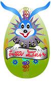 Coelhinho da páscoa nascidos de ovos — Vetorial Stock