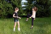 Girlfriends — Stockfoto