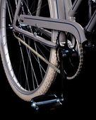 Old refurbished retro bike - Details — Stock Photo