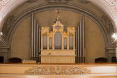 Organ in church — Stock Photo