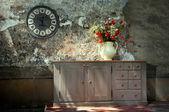 在城堡的家具 — 图库照片