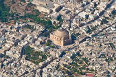 Mosta from aircraft — Foto Stock