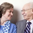 Royalty-Free Stock Photo: Elderly Couple in Love - Close Up