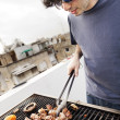 Rooftop Grillin' — Stock Photo #22383449
