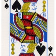 Stock Photo: Playing Card - Jack of Spades