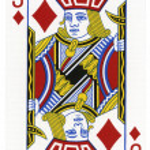 Playing Card - Jack of Diamonds — Stock Photo #22388907