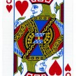 Playing Card - Jack of Hearts — Stock Photo
