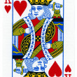 Playing Card - King of Hearts — Stock Photo #22389305