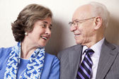 Elderly Couple in Love - Close Up — Stock Photo