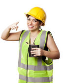Drunk Alcohol Safety Woman — Stock Photo
