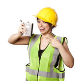 Alcohol Safety Woman — Stock Photo