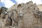 Gamla jerusalem ruiner — Stockfoto