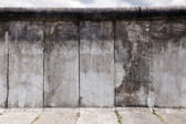 East-West Berlin Original Wall Section — Stock Photo