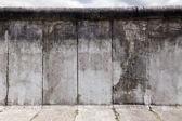 Sección de pared original de berlín este y el oeste — Foto de Stock