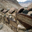 Mountain route in Nubra Valley Ladakh - Stock Photo