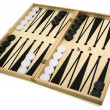 Isolated Backgammon Set - Stock Photo