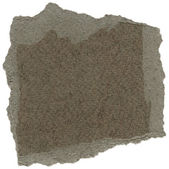Isolated Fiber Paper Texture - Taupe Gray XXXXL — Stock Photo