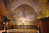 Crucifixion Mosaic - Church of the Holy Sepulchre — Stock Photo