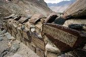 Mountain route in Nubra Valley Ladakh — Stock Photo