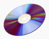 Isolated Compact Disc CD — Stock Photo