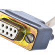 Used COM Cable — Stock Photo