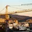 Rural Cranes and Factories — Stock Photo #22402621