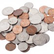Isolated US Coins Pile — Stock Photo #22403741