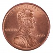 Isolated Penny - Heads Frontal — Stock Photo #22404107