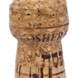 Isolated Kosher Cork - Stockfoto