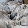 Dirty Glacier — Stock Photo