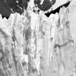Part of a glacier cliff — Stock Photo