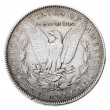 Morgan Dollar - Tails Frontal — Stock Photo #22407651