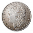 Morgan Dollar - Heads Frontal — Stock Photo