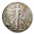 Walking Liberty Half Dollar - Heads Frontal — Stockfoto