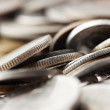 Coins Macro Background — Stock Photo #22408023