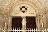 エルサレムのギリシャ教会の入り口 — ストック写真
