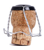 Isolated Champagne Cork — Foto Stock