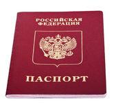 Isolated Russian Passport — Stock Photo