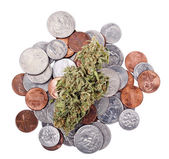 Marijuana and Change — Stock Photo