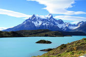 The wilderness of Patagonia — 图库照片