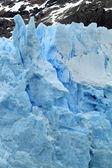 Parte de uma geleira — Fotografia Stock