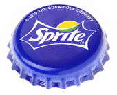 Isolated Sprite Metal Cap — Stock Photo
