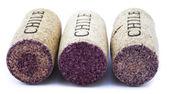 Three corks — Stock Photo