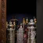 Torah Scrolls Cabinet — Stock Photo #22410025