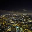 Tel-Aviv Night Cityscape - Stock Photo