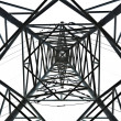 Stock Photo: Isolated Pylon Abstract