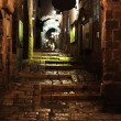 Old Jaffa Evening Alley - Stock Photo