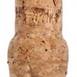 Stock Photo: Isolated Champagne Cork