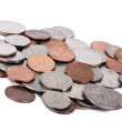 Isolated US Coins Pile — Stock Photo #22414333
