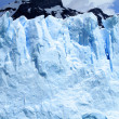 Glacier Cliff - Stock Photo